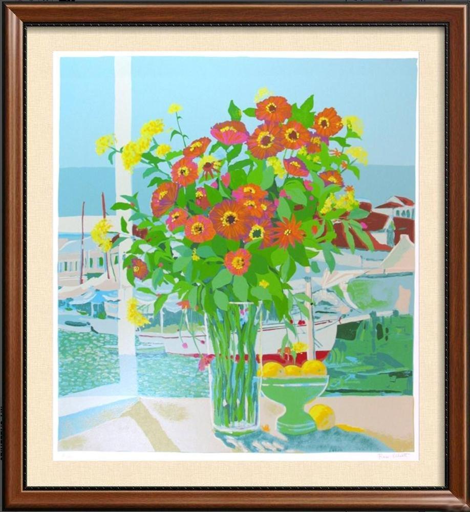 Colorful Still Life Ltd Ed Serigraph Dealer Liquidation