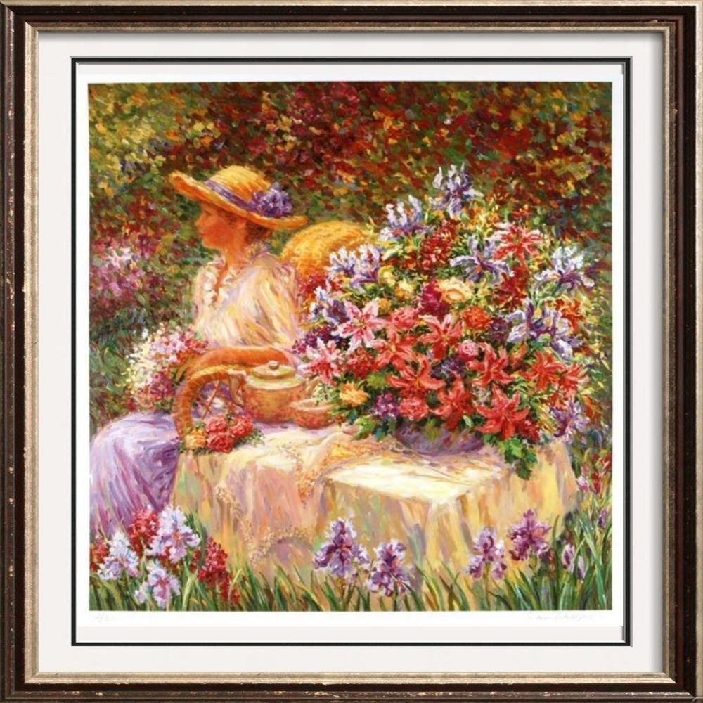 Floral Ltd Ed Rare Sale Hand Signed Serigraph