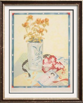 Beautiful Color Serigraph Signed Limited Edition Art