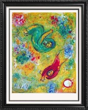 Colorful Marc Chagall Rare Lithograph Liquidation Sale