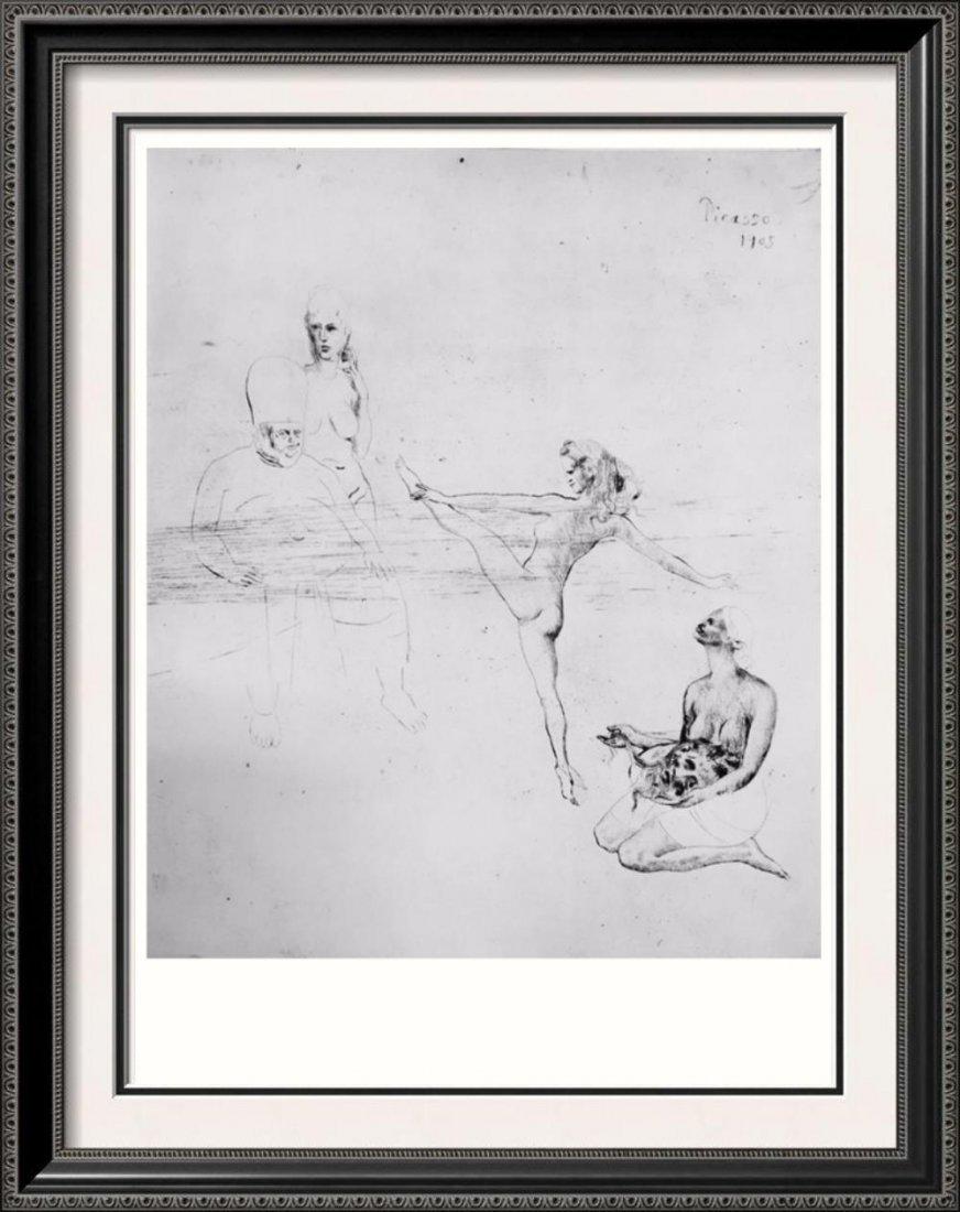 Pablo Picasso 'After'  Salmone c. 1905 Fine Art Print