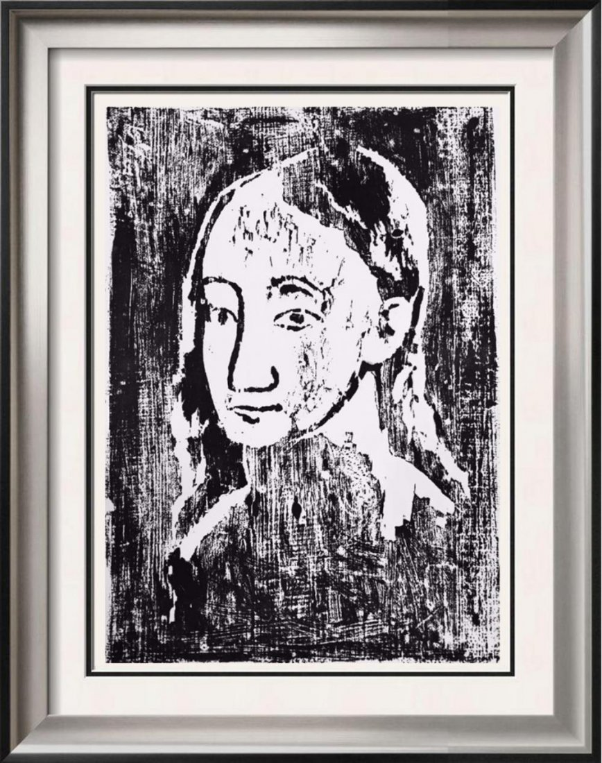 Pablo Picasso 'After'  Head of a Young Woman c. 1906
