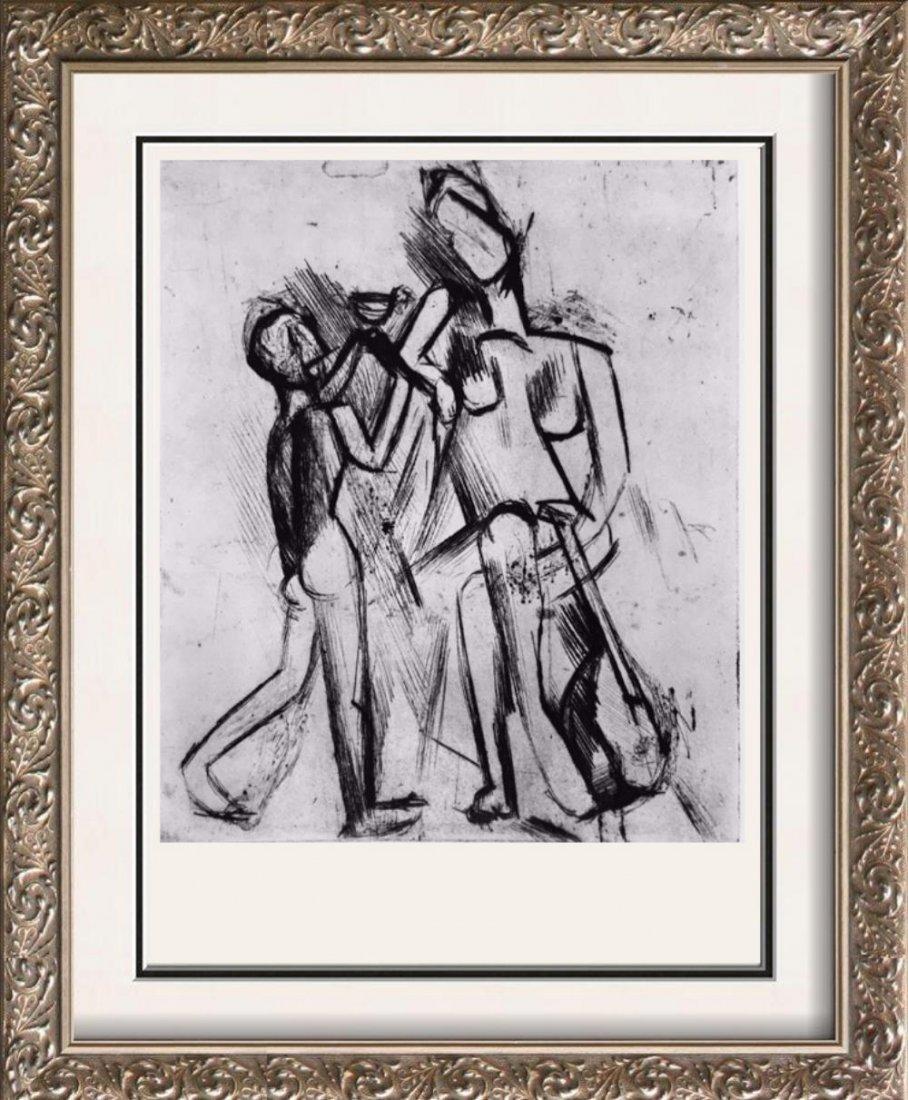 Pablo Picasso 'After'  Two Nudes c. 1909 Fine Art Print
