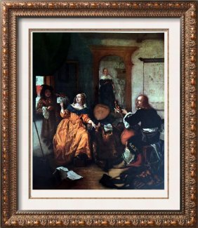 Masterpieces Of Dutch Painting Gabriel Metsu: The Music