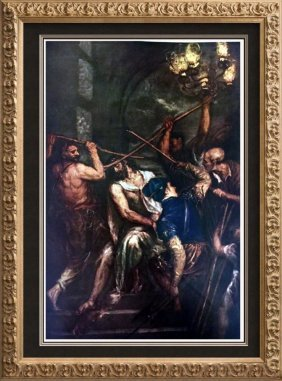 Tiziano Vecellio Titian Christ Crowned With Thorns