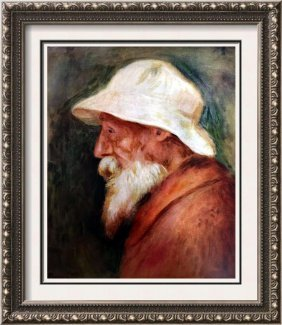Pierre Auguste Renoir Self-portrait C.1910 Fine Art