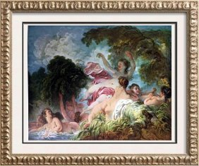Great Paintings Of The Nude Fragonard: The Bathers