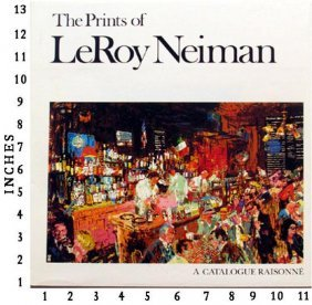 Museum Art Books Leroy Neiman - The Prints Of Leroy