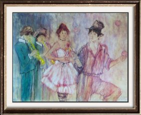 Susan Sahall Rare Embellished Limited Edition