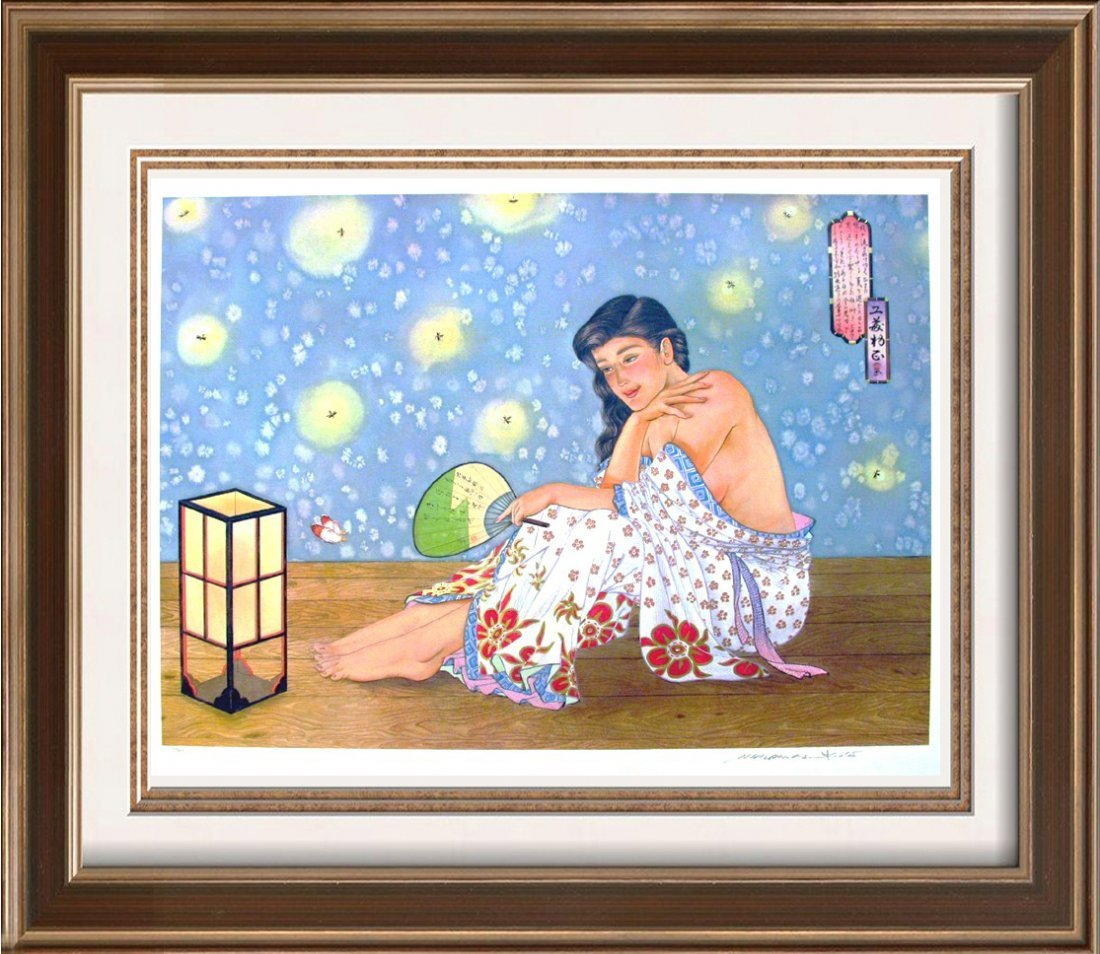 Muramasa Kudo Large Firefly Rare Ltd Ed Serigraph Rare