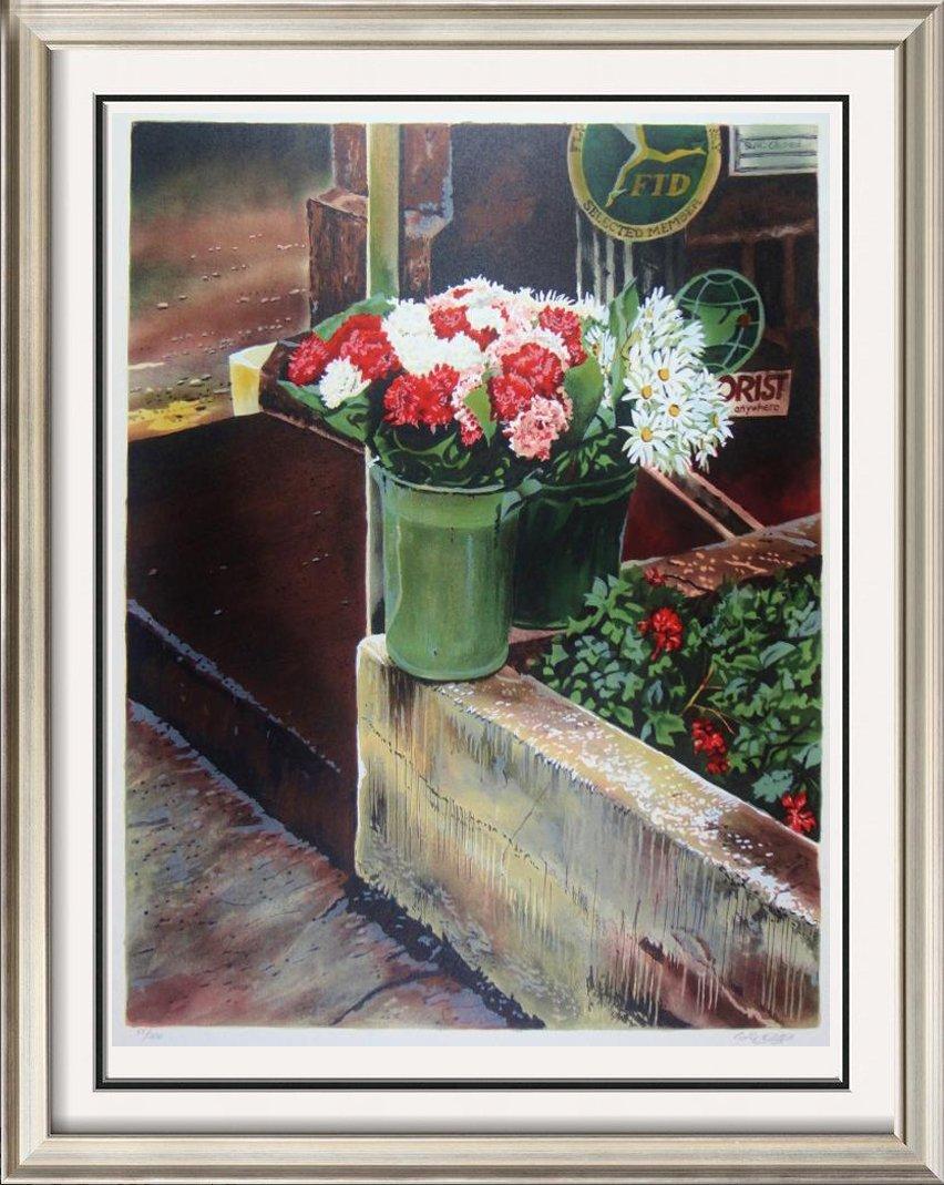 Florist Ltd Ed Dealer Liquidation Fantastic Art