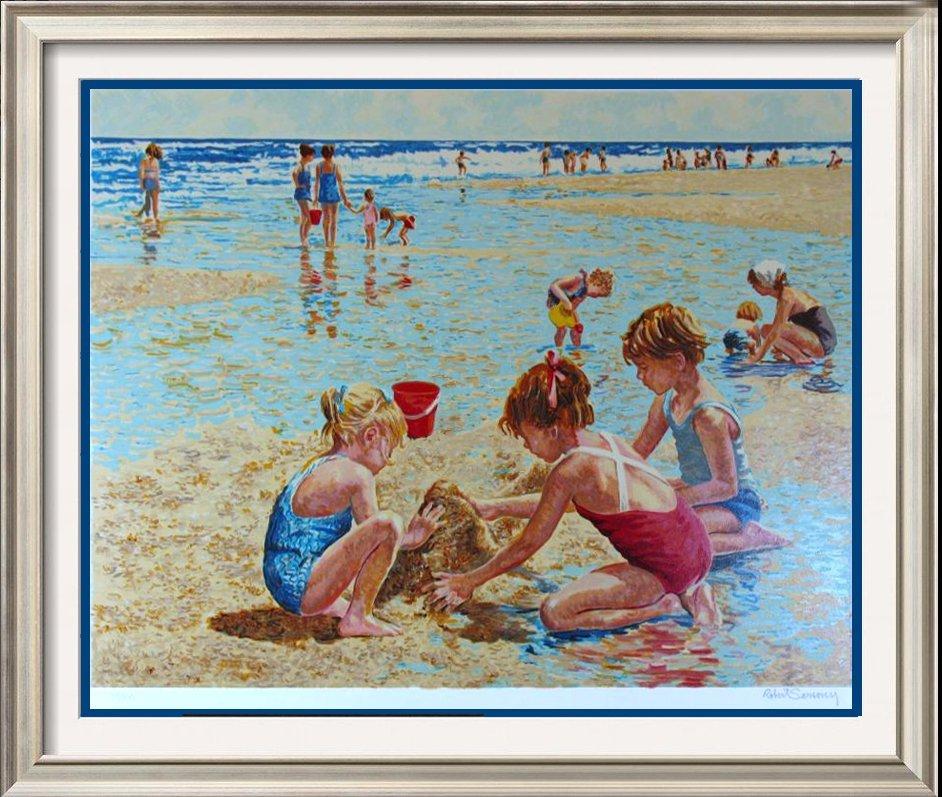 Sand Castle Limited Edition Beach Kids Children