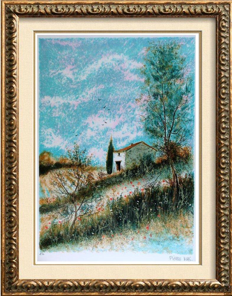Impressionism Beautiful Signed Landscape Colorful Rare