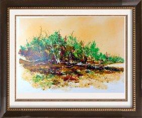 $20 Signed Ltd Ed Landscape Impressionism Fall Colors