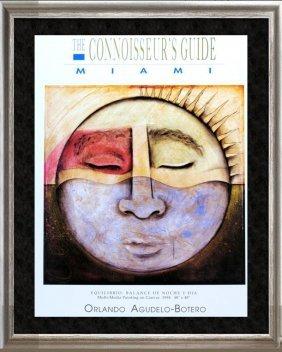 Orlando Agudelo Botero Connoissers Signed Fine Art