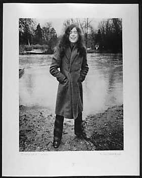 051013B: Jimmy Page 1970 Original Photograph Signed