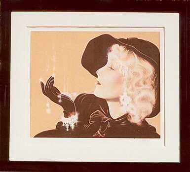 608D: Jewels 20's Style Art Deco Style Ltd Ed Signed Ar