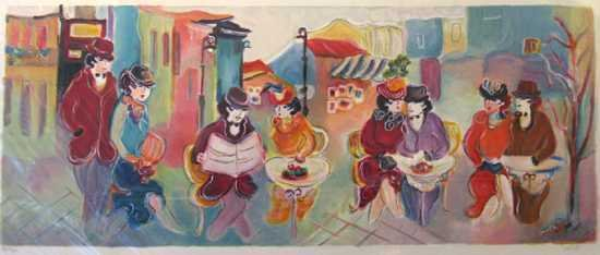 1301D: Maimon Style Café Limited Edition Colorful Serig