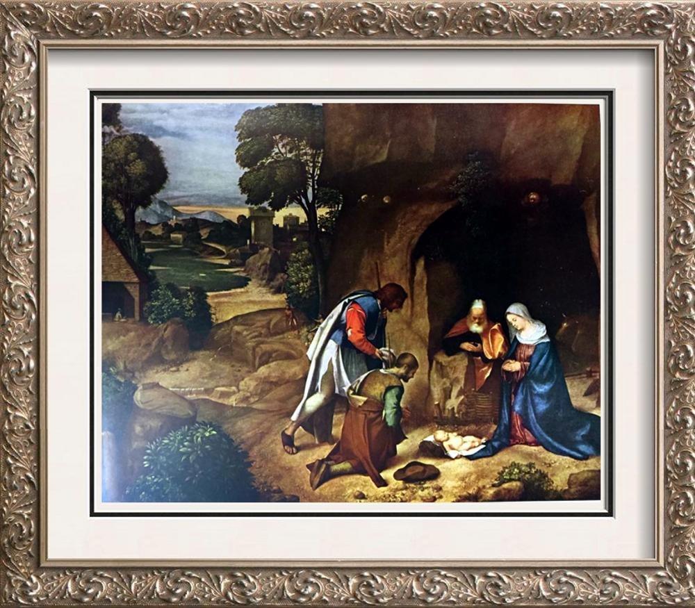 Masterpieces Giorgione: Adoration of the Shepherds