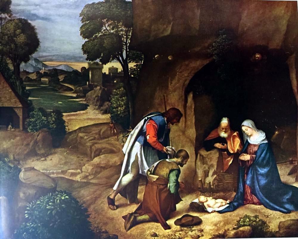 Masterpieces Giorgione: Adoration of the Shepherds - 2