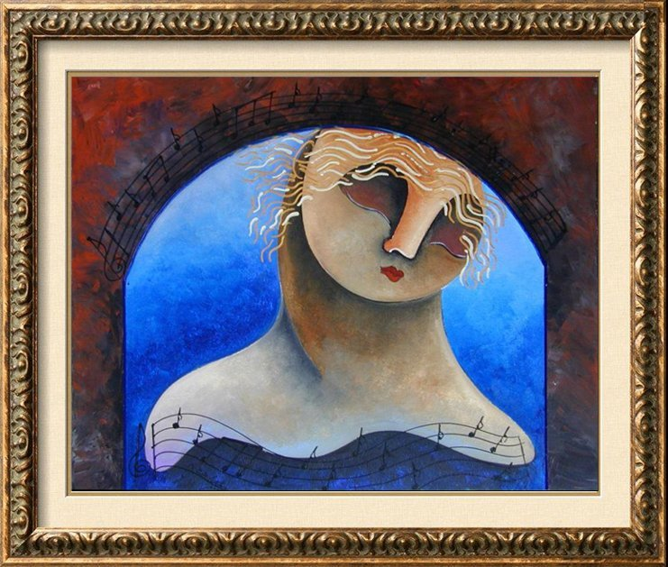 Jazz Colorful Original Painting Gallery Liquidation Art
