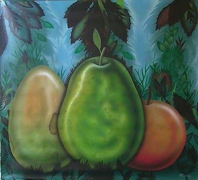 5158E: South American Art Fernando Montoya Original