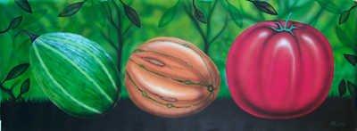 5159E: Montoya Painting on Canvas Original Art