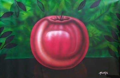 5160E: Colorful Painting on Canvas Fernando Montoya