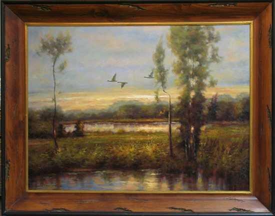 8750E: Landscape Nature Scene Everglades Original