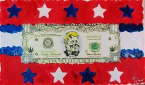 Bill Clinton Monica Hilarious Art Canvas Great Gift