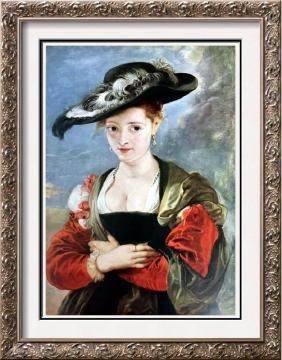 """Peter Paul Rubens Susanne Fourment """"Le Chapeau de"""