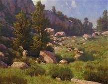 """""""Alpine Meadow"""" by Dennis Doheny (b. 1956)"""