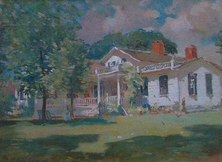 Fletcher Steele Estate by Colin Campbell Cooper