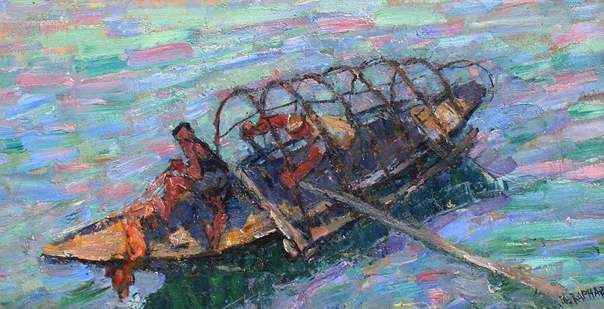 Fishing Boat by Joseph Raphael