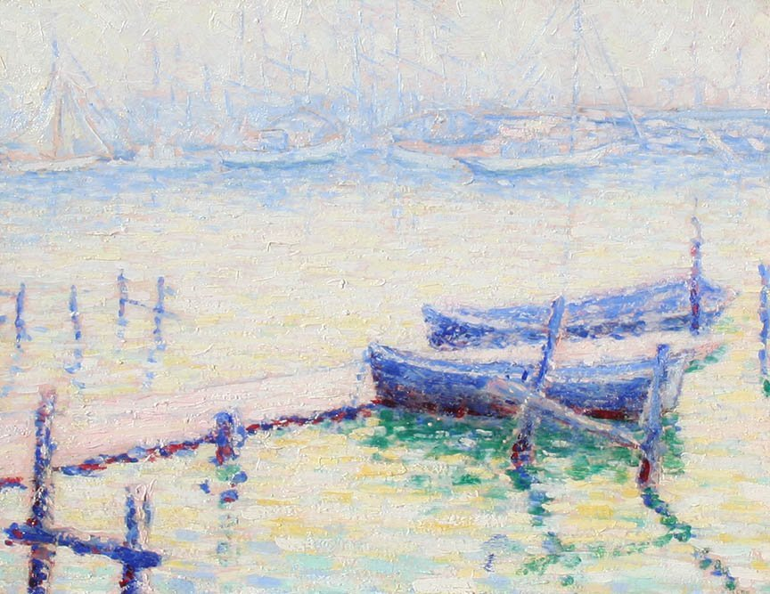 Row Boats by Maybelle Tupper (1895-1987)