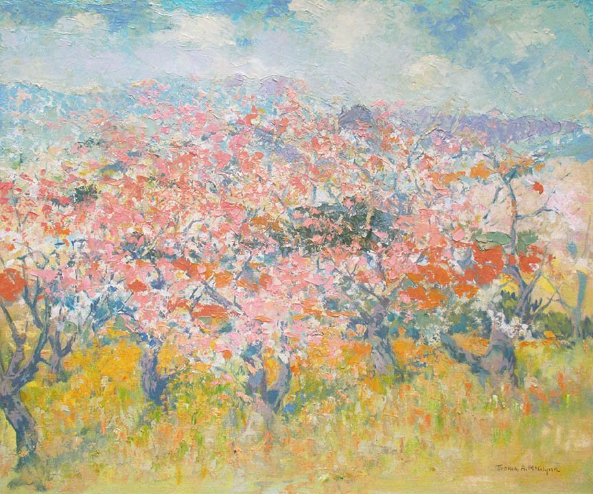 Blossoms by Thomas McGlynn (1878-1966)