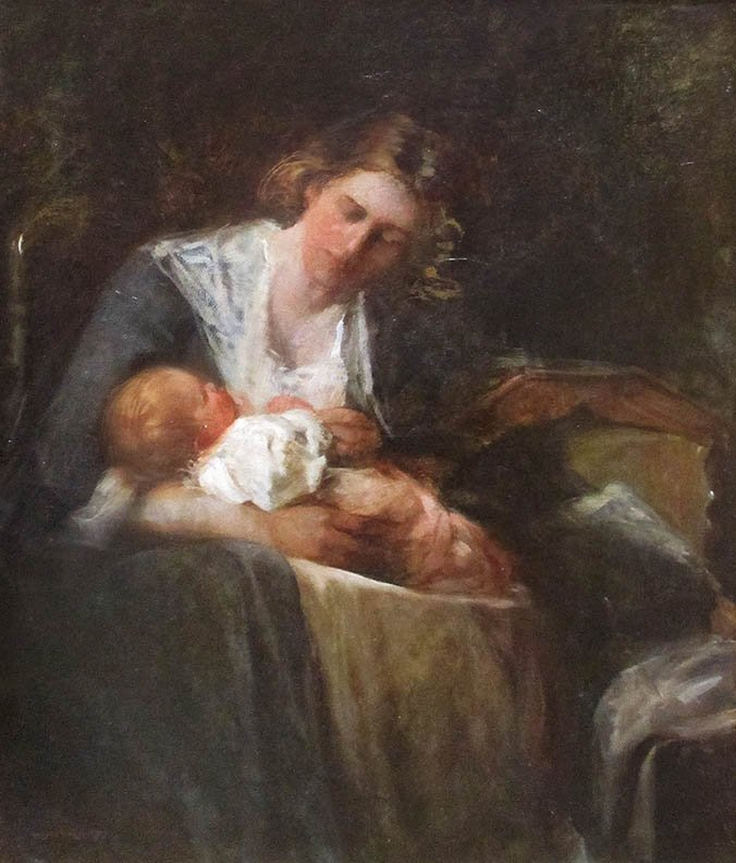 """Mother and Child"" by Mary Curtis Richardson"