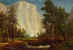"""El Capitan, Yosemite"" by Gilbert Munger"