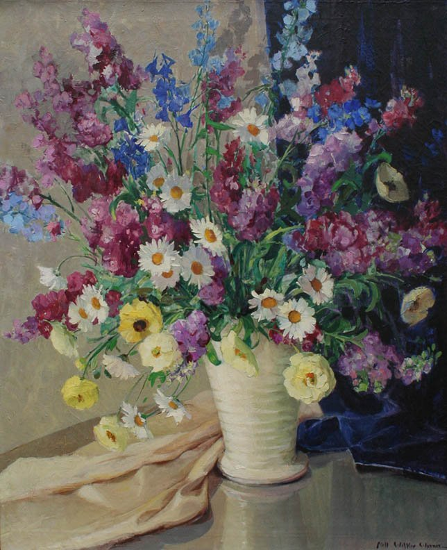"""Floral Still Life"" by Nell Walker Warner"