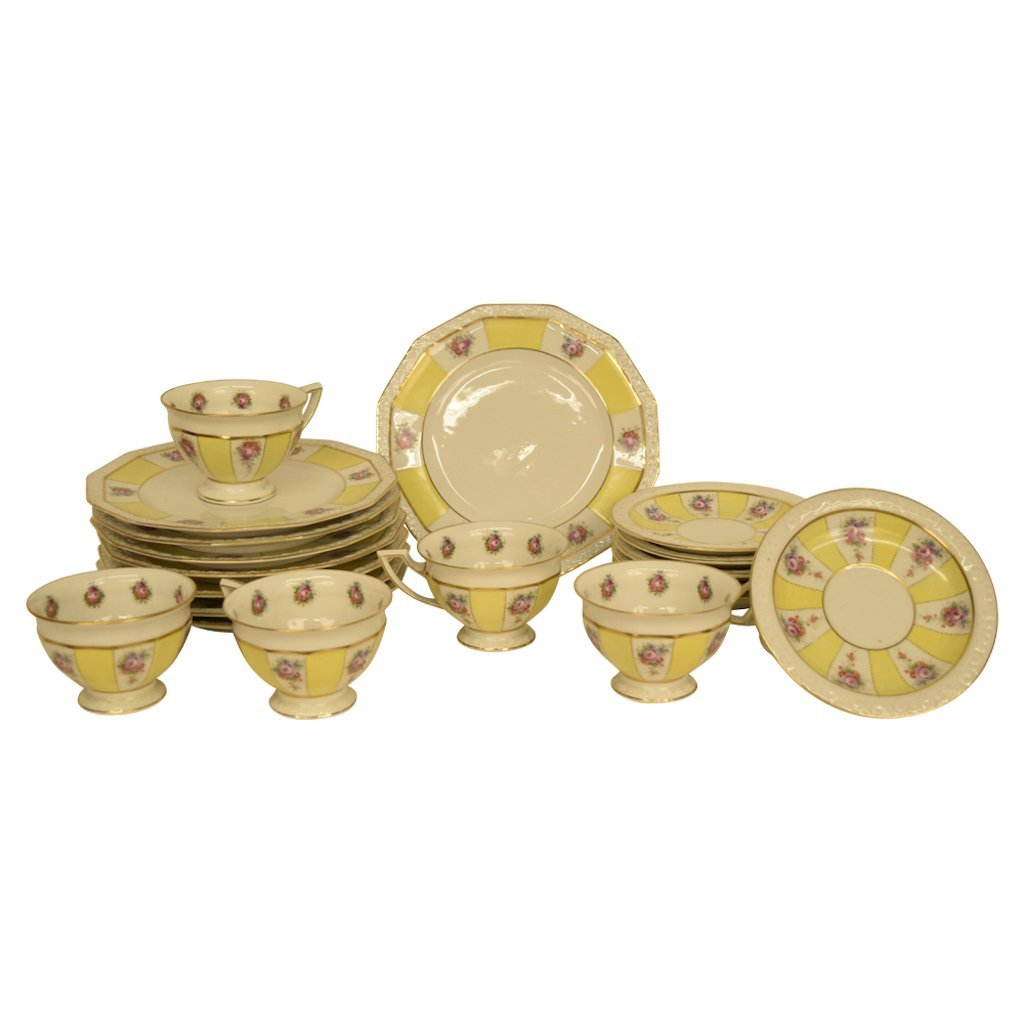 Set of Yellow Rosenthal China
