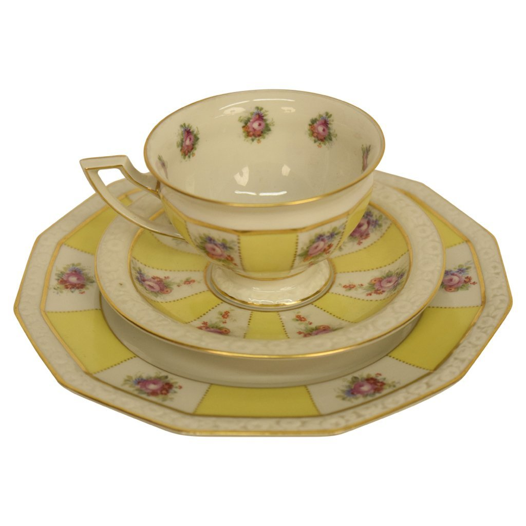 Set of Yellow Rosenthal China - 2