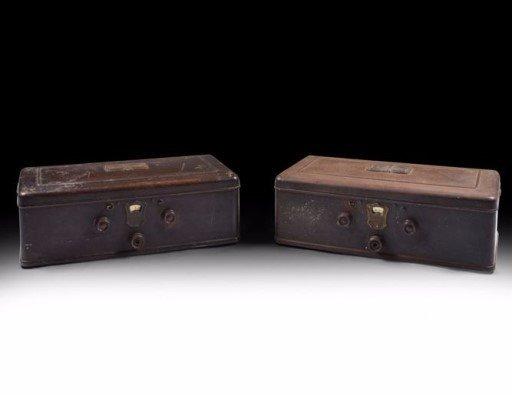 Pair of  1920s Atwater Kent Radios