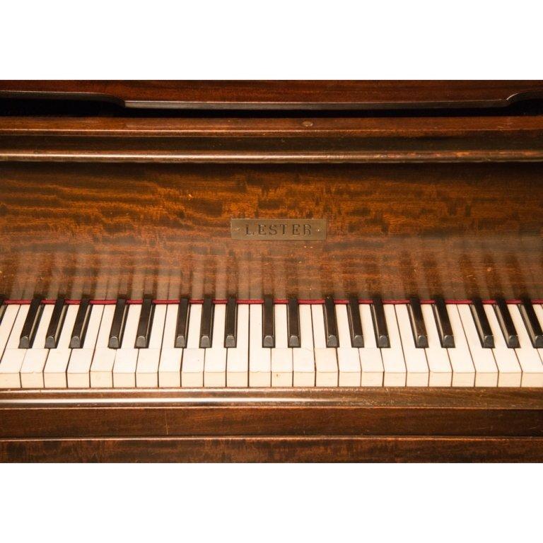 Lester Baby Grand Piano circa 1912 - 3
