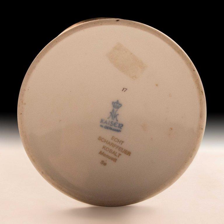 Kaiser, Germany Kobalt Vase - 4