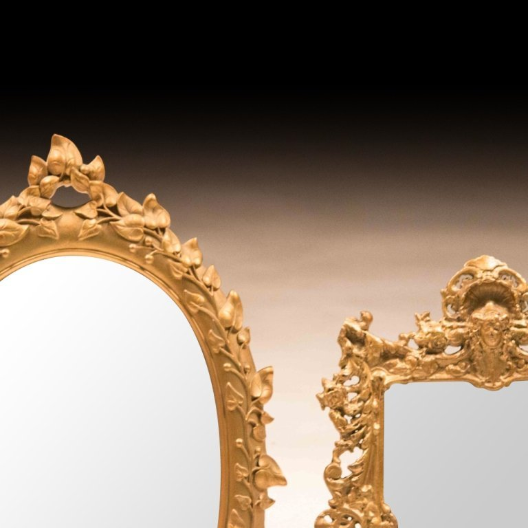 Two Early-Mid 20th Century Table Mirrors - 2