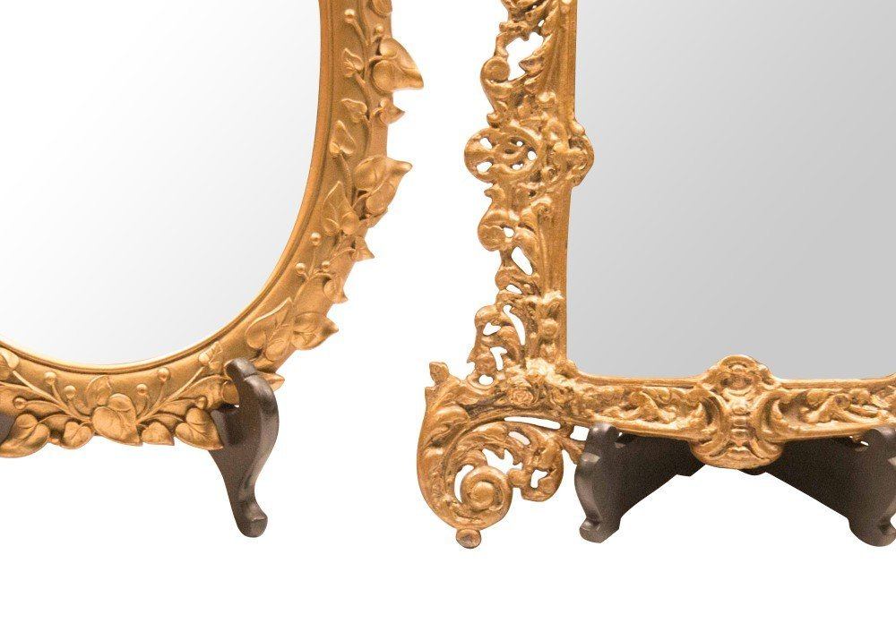 Two Early-Mid 20th Century Table Mirrors - 3