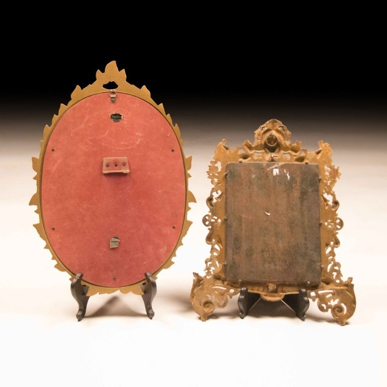 Two Early-Mid 20th Century Table Mirrors - 4