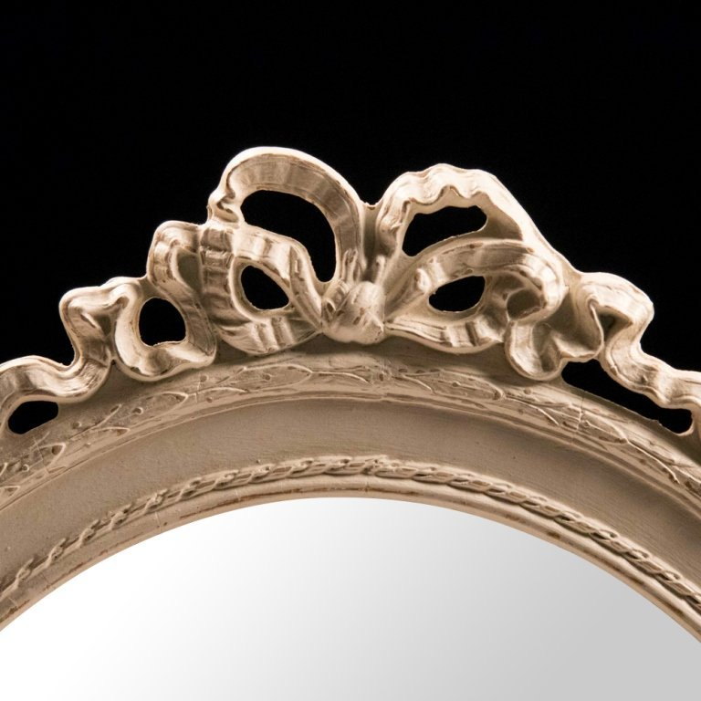 Shabby Chic Louis XVI-style Wall Mirror - 2