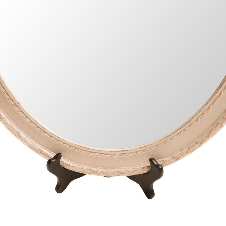 Shabby Chic Louis XVI-style Wall Mirror - 3
