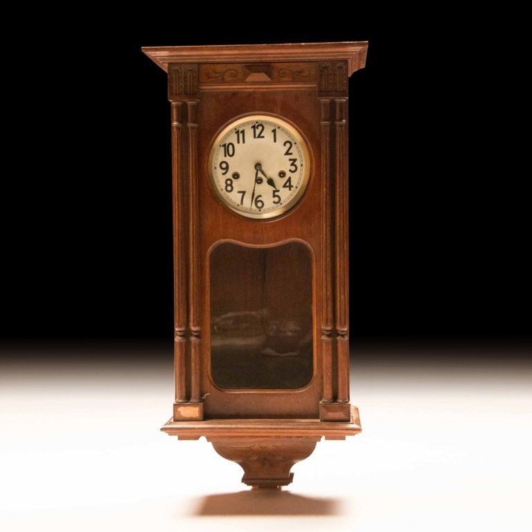 French Henry II-style Wall Clock c.19th Century